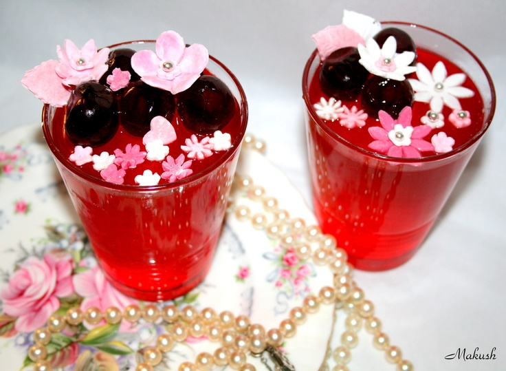 Strawberry and Cherry jelly made by me