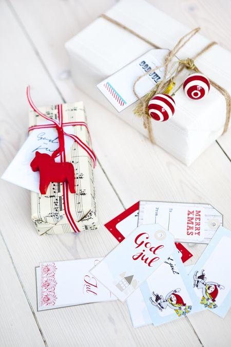 Hilda's home: Christmas Gift Tags - Free Download