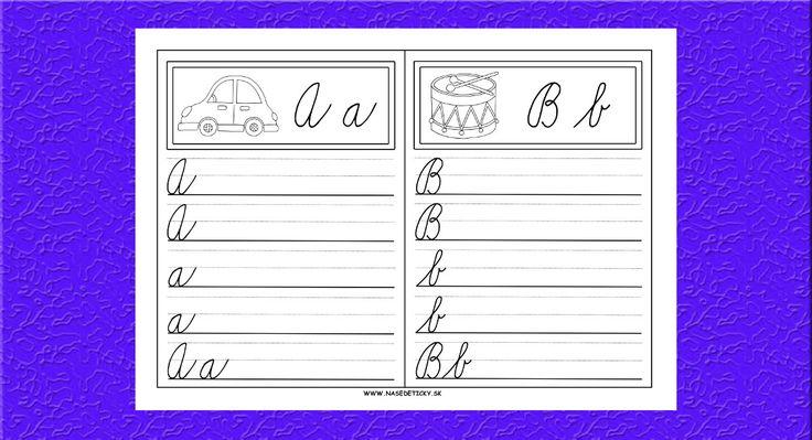Prváčikov väčšinou nebaví cvičiť písanie písmeniek len tak na papier, preto sme…