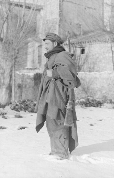 Spain - 1938. - GC - 15th International Brigade - Argente, Janvier 1938