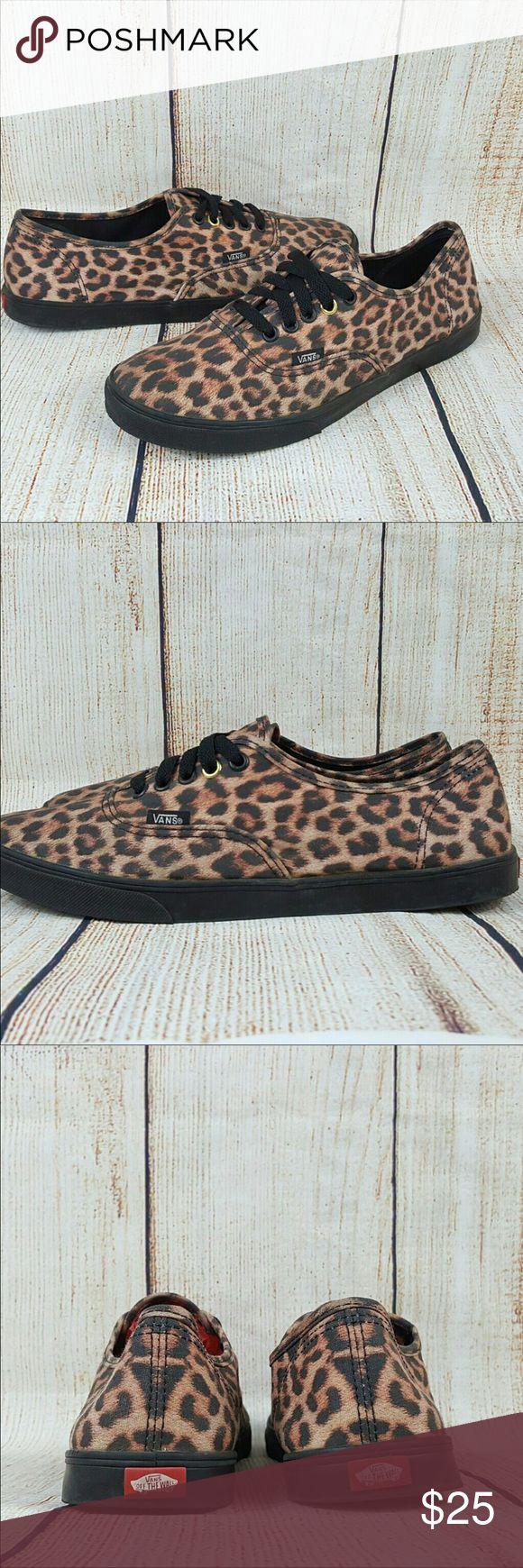Vans leopard shoes 9.5 Super cute Vans Shoes Sneakers