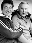 Brian Clough & Peter Taylor....a cruel reminder of the importance of friends :/