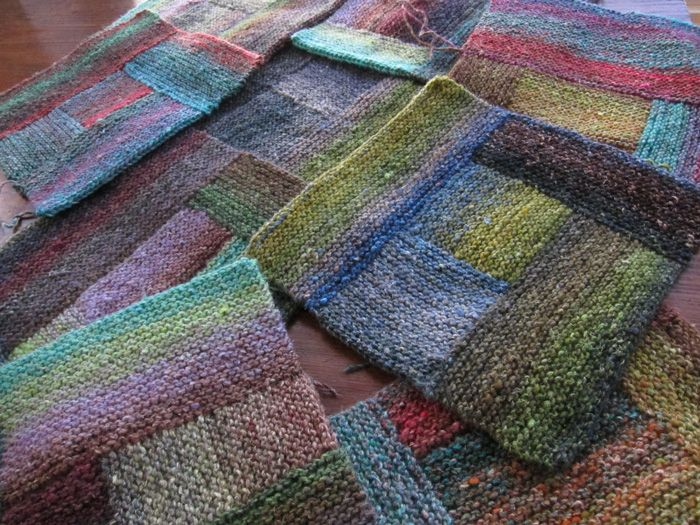 Dear Kay, The way I see it, there are two ways to knit with Noro. You care, or you don't. You aim, or you don't aim.