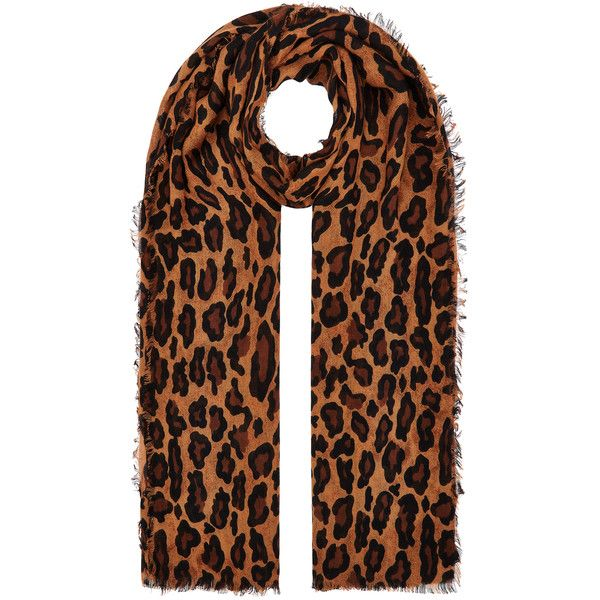 Accessorize Lola Leopard Scarf found on Polyvore featuring accessories, scarves, leopard shawl, accessorize scarves, leopard print scarves, leopard scarves and leopard print shawl