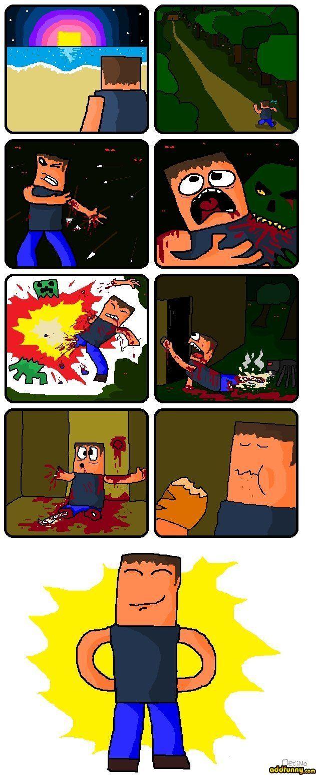 Minecraft logic. it makes no sense at all.