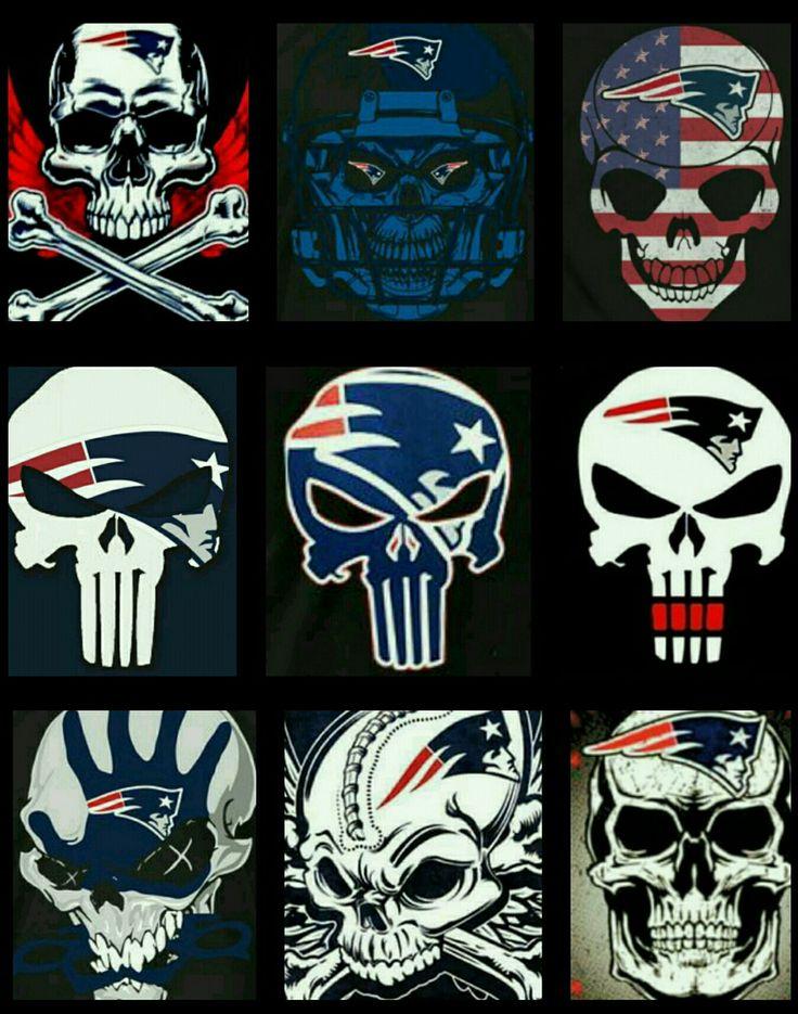 Patriots Skulls