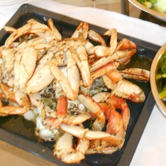 Your Inspiration at Home Garlic Crab Bake. #YIAH www.yourinspirationathome.com.au