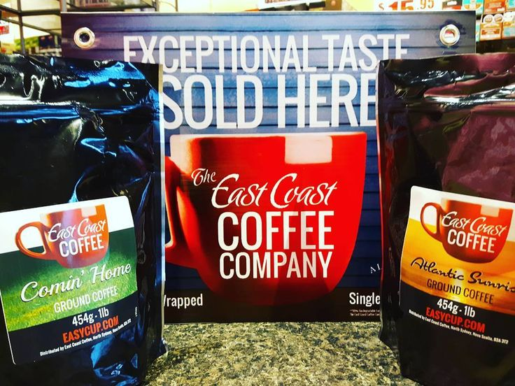 New arrival 1lb ground coffee from #eastcoastcoffee roasted in Sydney NS! #nsroasters #novascotiaselect #sydneyns #capebreton #ILOVELOCALHFX #halifaxnoise #mayflowermall