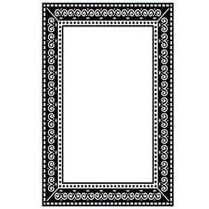 Photo Frame A2 Embossing Folder by Darice 1219-115