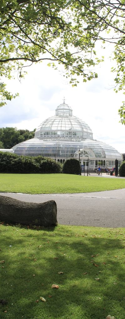 The Palm House, Victorian greenhouse in Sefton Park, Liverpool.