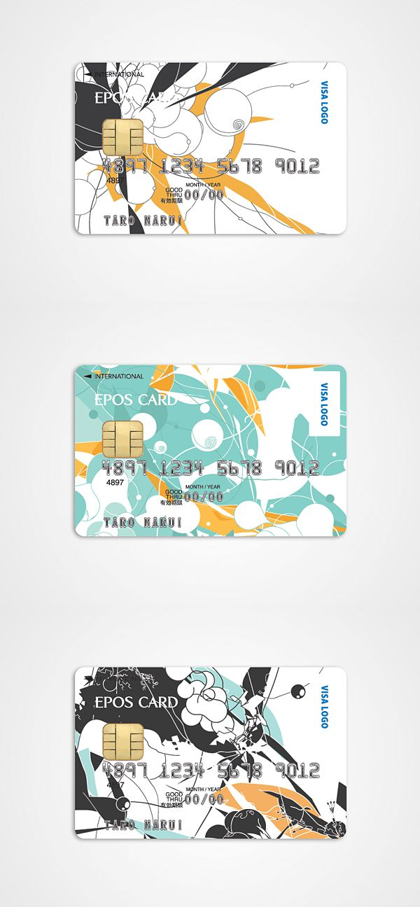 EPOS Credit Card on Behance