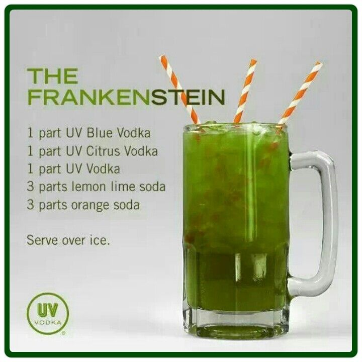 "The Frankenstein- more like ""Drunkenstein"""
