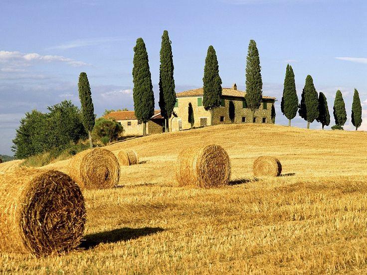 Красивые пейзажи. Тоскана. Италия.