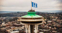 Seattle Seahawks the 12th Man - honouring their fan