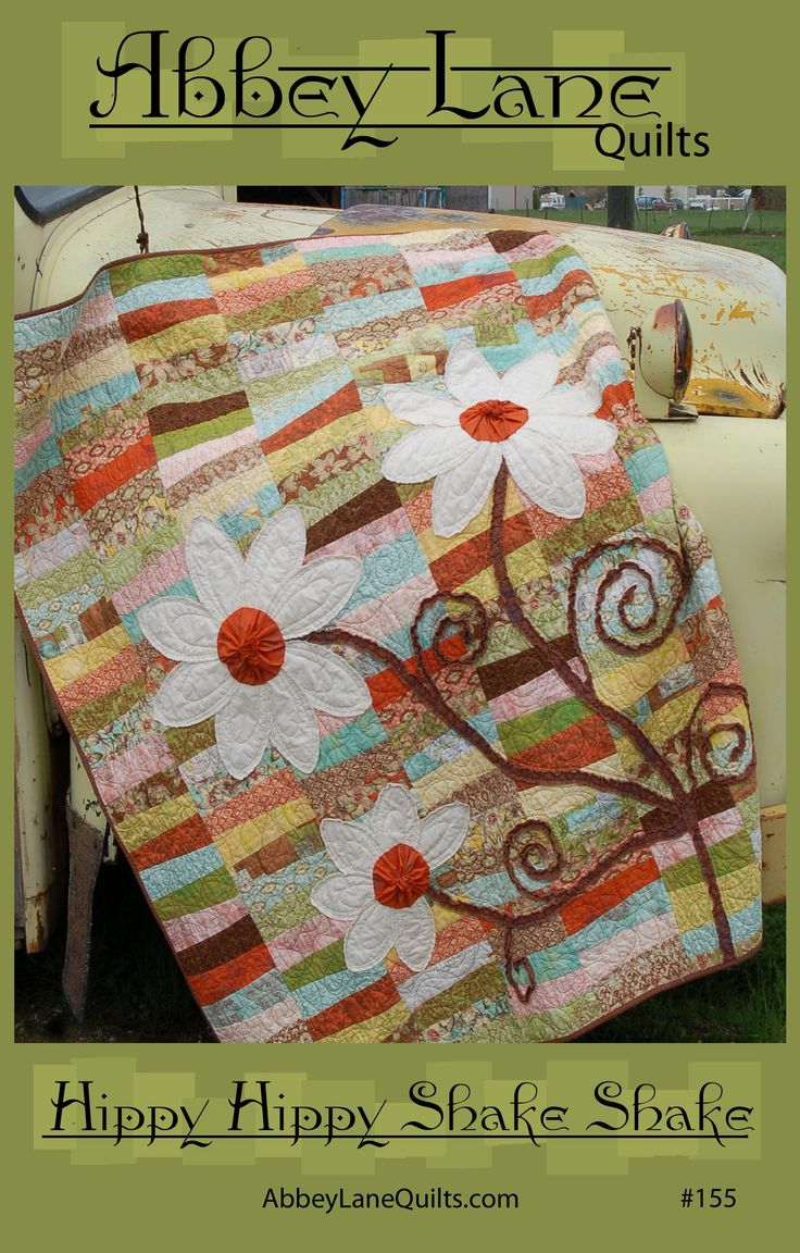 Just love the Big Flowers on this fun quilt | quilt ...