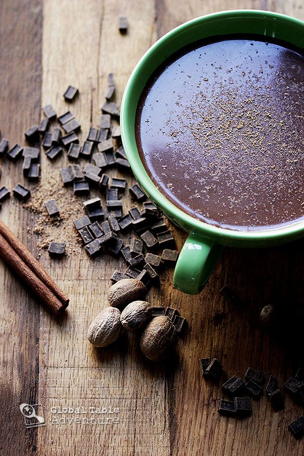 "Wake up warm & cozy with this steaming cup of rich, nutmeg & cinnamon laced ""Cocoa Tea"" from Saint Lucia."