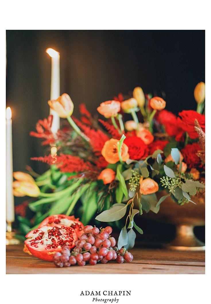 Still life film photo - Boone, NC - Adam Chapin Photography  #fineartphotography #stilllife #florals #film #istillshootfilm #mediumformat #pentax #portra400 #yummicandles #peonies #pomegranate