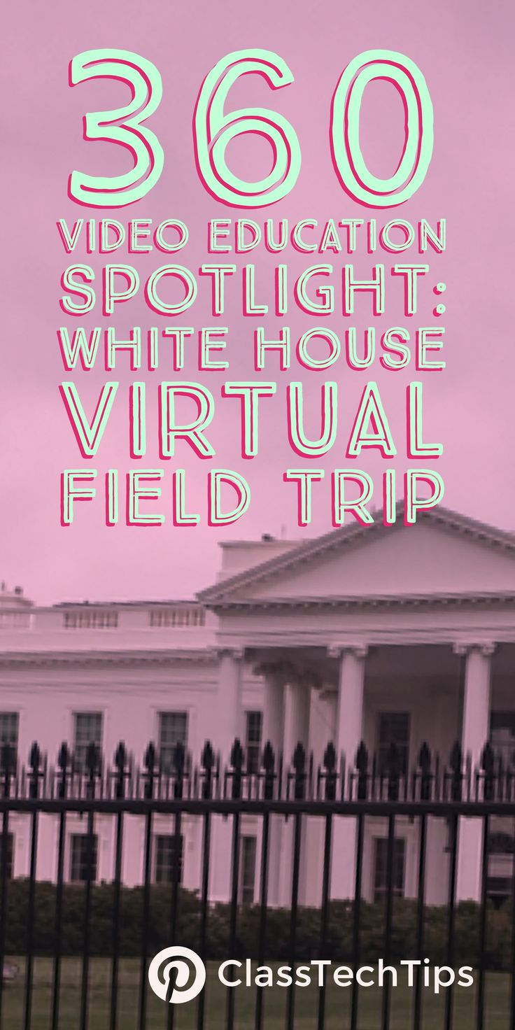 Take a virtual reality field trip! How might you use a White House Virtual Field Trip in your classroom? Check out these tips for 360 videos in your classroom.