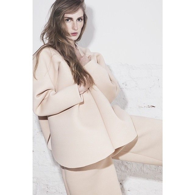www.odivi.cz  When a foam from bra becomes a #jacket and #shorts. #ss14 #odivi