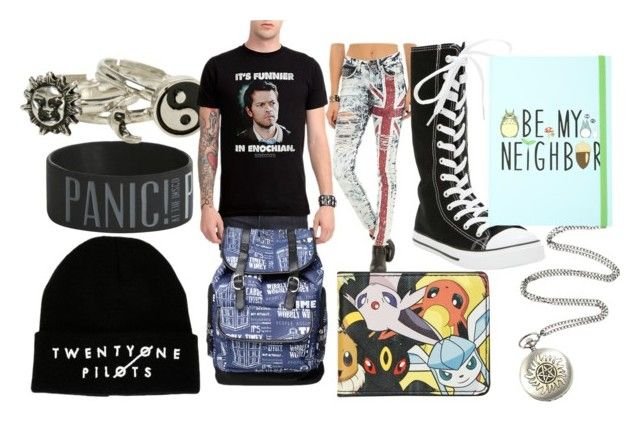"""""""Nerdy Hot Topic Outfit"""" by grace-1010 on Polyvore"""