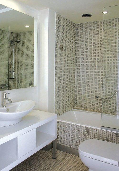 Banheiros modernos e baratos com pastilha