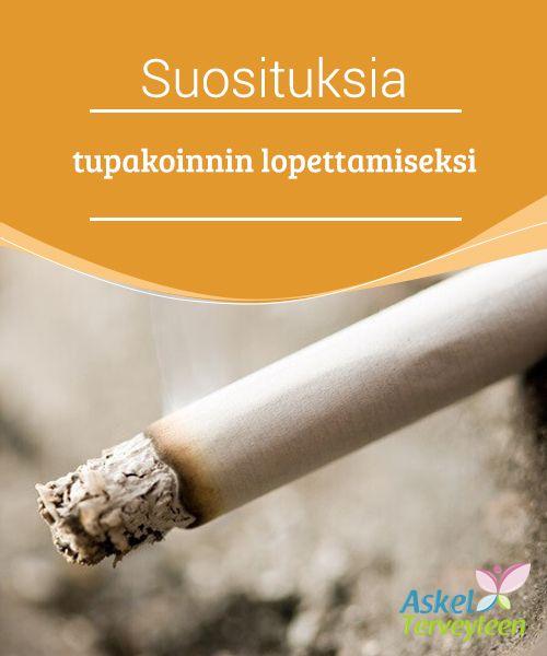 Suosituksia tupakoinnin lopettamiseksi   Maailman #terveysjärjestön mukaan joka vuosi 6 #miljoonaa ihmistä kuolee #tupakointiin liittyviin syihin.  #Terveellisetelämäntavat