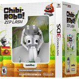 Chibi-Robo Zip Lash + Chibi-Robo amiibo Figure - Nintendo 3DS, Multi