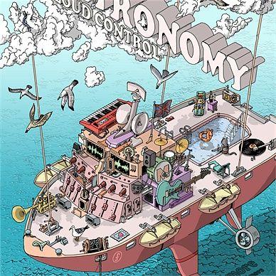 Poster for Metronomy at Fillmore, San Francisco