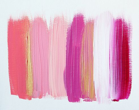 Pink paint swatches. #pink #paint