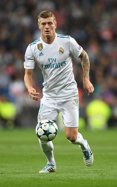 Toni Kroos Photos - Toni Kroos of Real Madrid in action during the UEFA Champions League group H match between Real Madrid and Tottenham Hotspur at Estadio Santiago Bernabeu on October 17, 2017 in Madrid, Spain. - Real Madrid v Tottenham Hotspur - UEFA Champions League