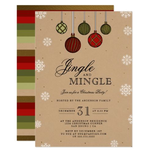 17 best RSCF Holiday party invitations images on Pinterest - holiday party invitation