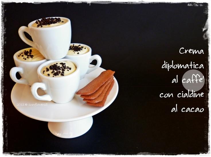#Ricetta #Crema al #caffe' con cialdine al #cacao - #Coffee cream with cocoa wafer #cookies @Venchi Cioccolato  #food #recipe #foodblogger
