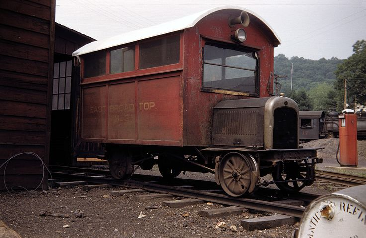 This home built East Broad Top railroad maintenance of way