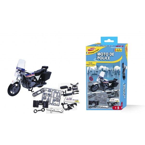 Initiation enfant maquette moto de police Joustra