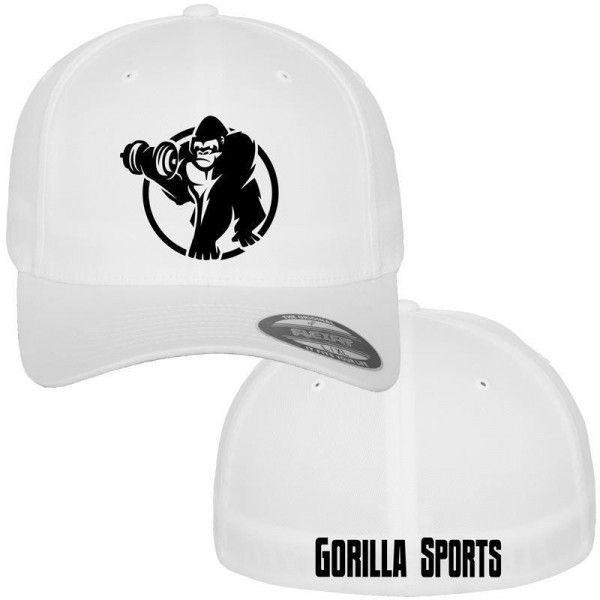 Gorilla Sports Wooly Combed lippis, 19,95 €. Gorilla Sportsilta valkoinen treenilippis kesän treenaamiseen kuin myös talvelle! Lippiksessä on hyvin viimeistelty kirjailu. #lippis #gorilla #lippalakki