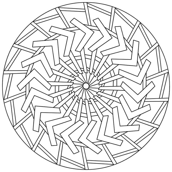 122 Best Images About Mandala Coloring Pages On Pinterest