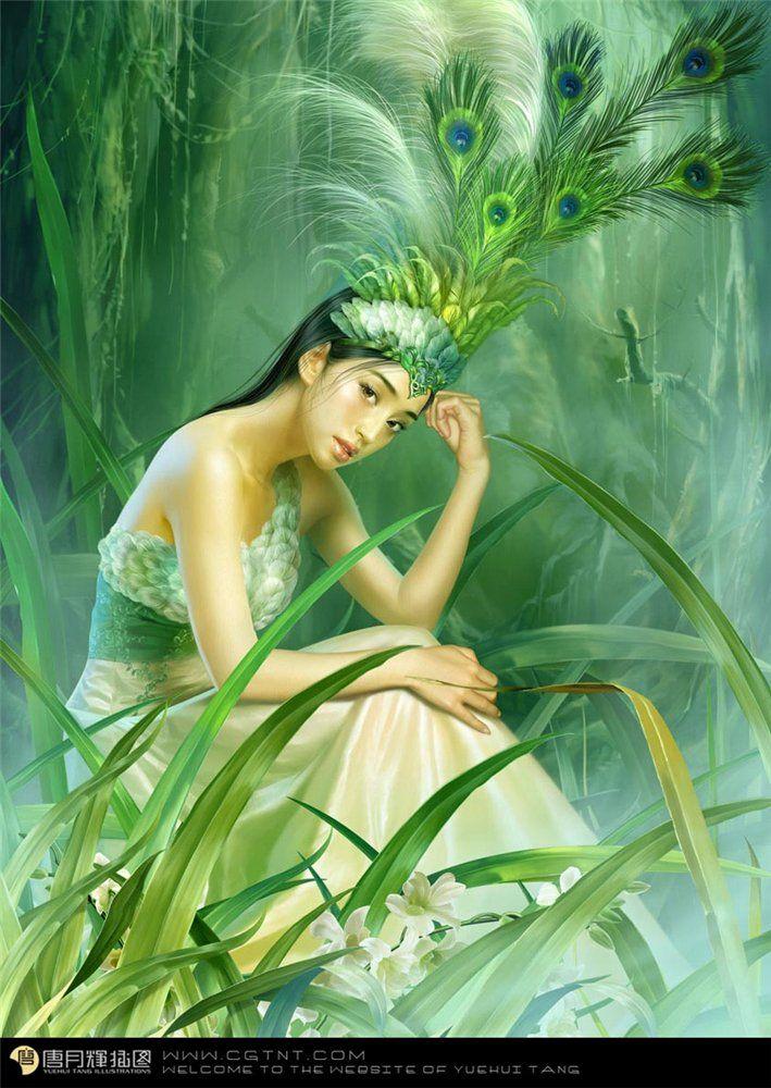 Fantasy art от Yuehui Tang — affinity4you