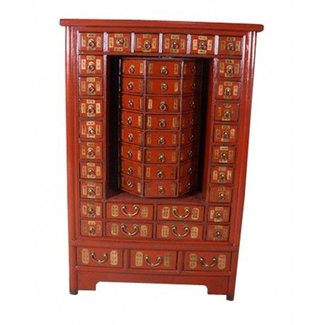 Moulin à prières tibétain. Dimensions : L99 x P53 x H146 cm. Origine : TIBET. Frais ecotax inclus. Sur mesure, merci de nous contacter. Rêve d'Asie. Suisse.