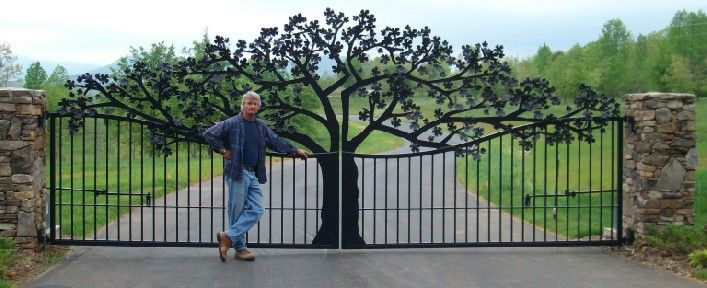 Wooden Garden Gates Iron Designs Residential Gates