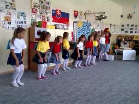 Tanec predškoláčok z Mš Slniečko - YouTube