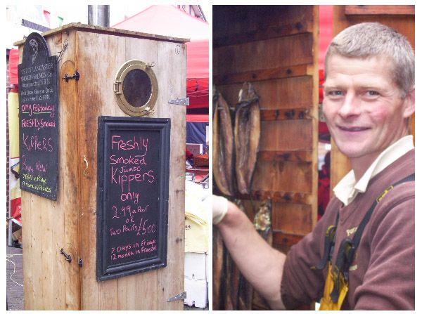 Kipper Smokehouse Vendor, Stone Farmer's Market * Read about it on TIFFIN - bite sized food adventures -