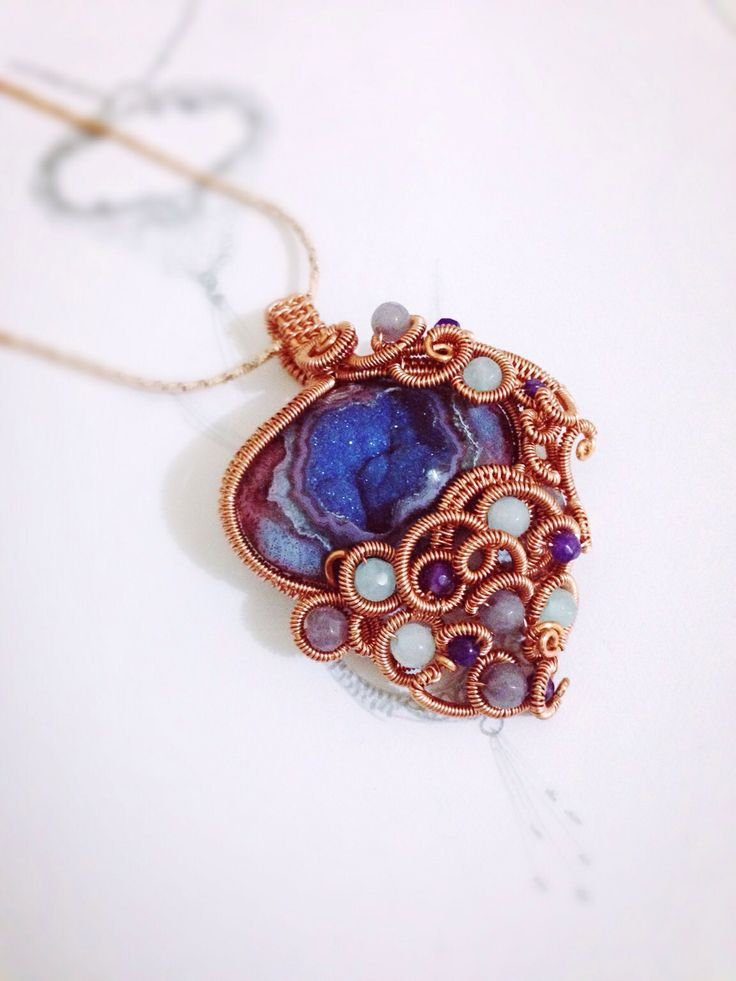 20 best My Wire Jewelry Design images on Pinterest | Wire jewelry ...