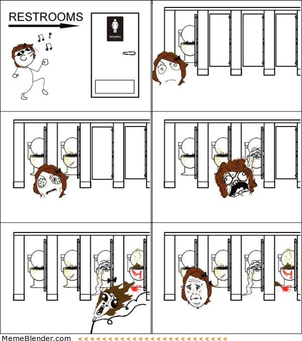 Public Bathrooms Are Gross
