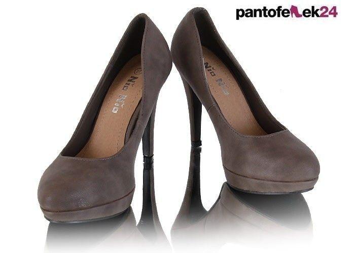 Szare szpilki / Grey heels / 39 PLN #heels #grey #shoes #szpilki #buty #fashion #style
