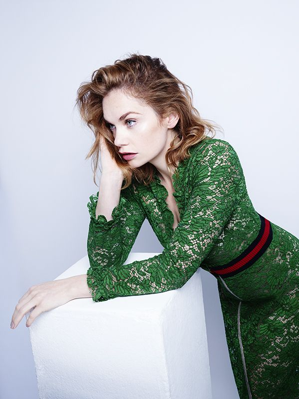 Ruth Wilson for InStyle. Hair: Nick Irwin Make Up: Andrew Gallimore Stylist: Hannah Lewis