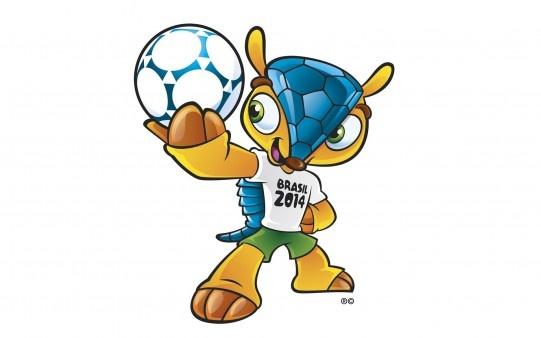 Mascota del Mundial de Fútbol Brasil 2014.  http://fotospara.net/f%C3%BAtbol