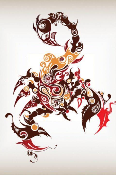 Scorpion art