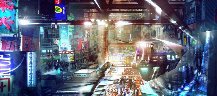 Tokyo 2090 Cyberpunk Pinterest Cyberpunk and Tokyo