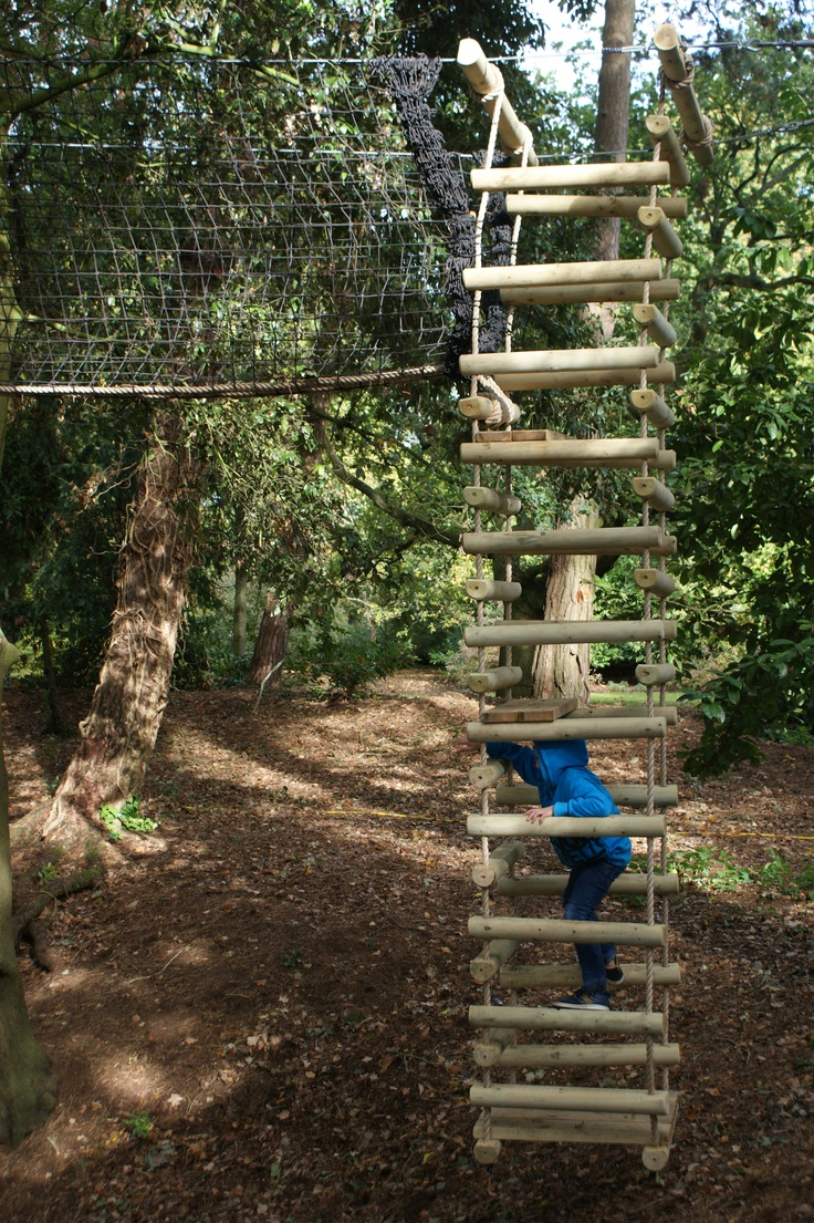 Rope Ladders for treehouses by Treehouse Life