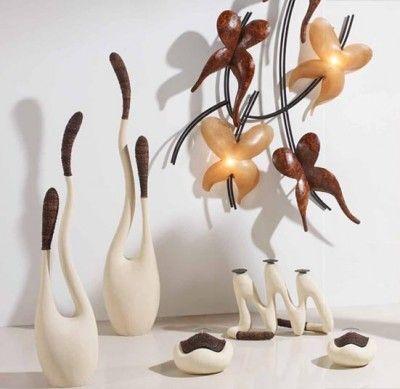 Mejores 84 im genes de jarrones y figuras decorativas complementos para la decoracion del - Figuras decorativas modernas ...